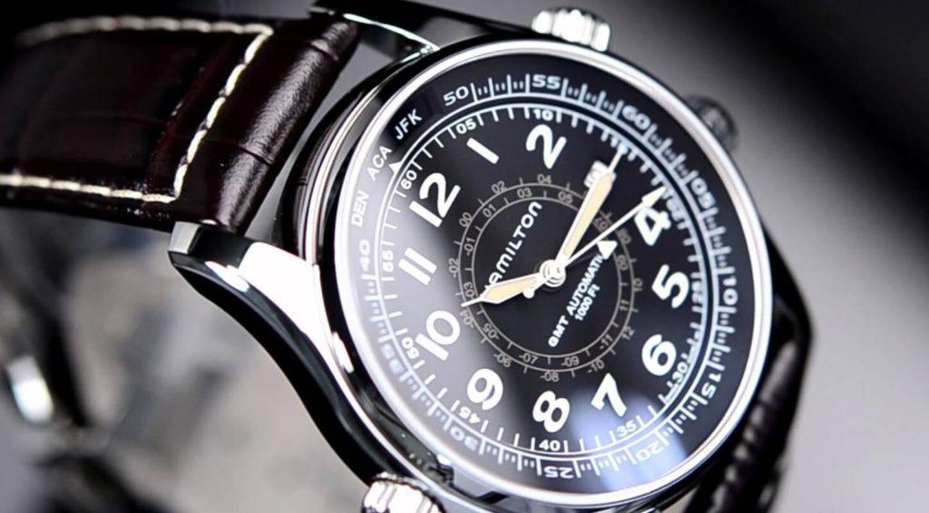 scegliere orologio da uomo hamilton