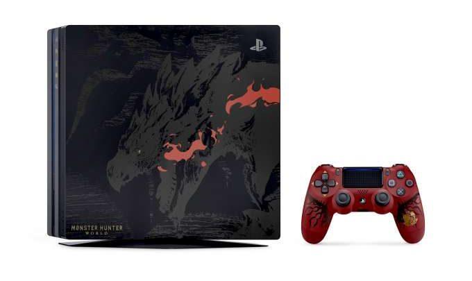 Playstation 4 Pro dedicata a Monster Hunter World
