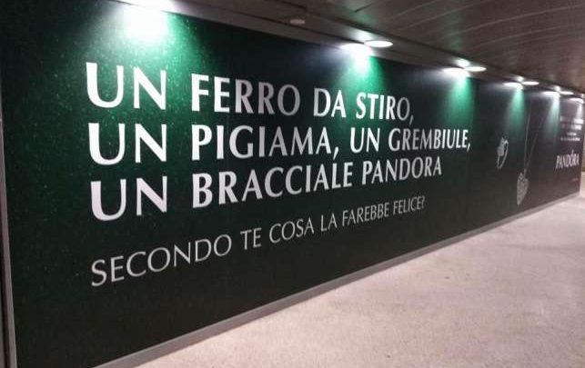 pubblicità pandora