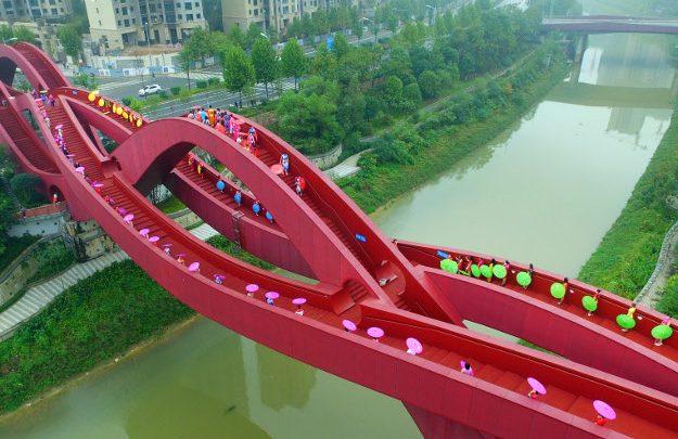 ponte annodato Cina